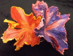 Felted Flowers - Kami Workshop